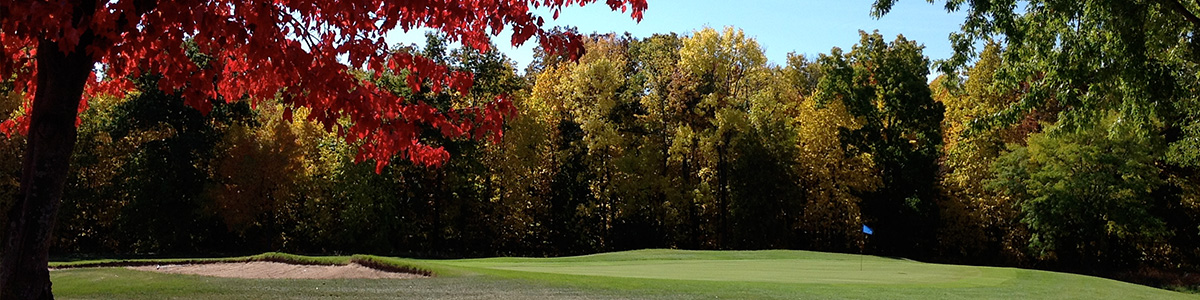 Hole #9 in Fall
