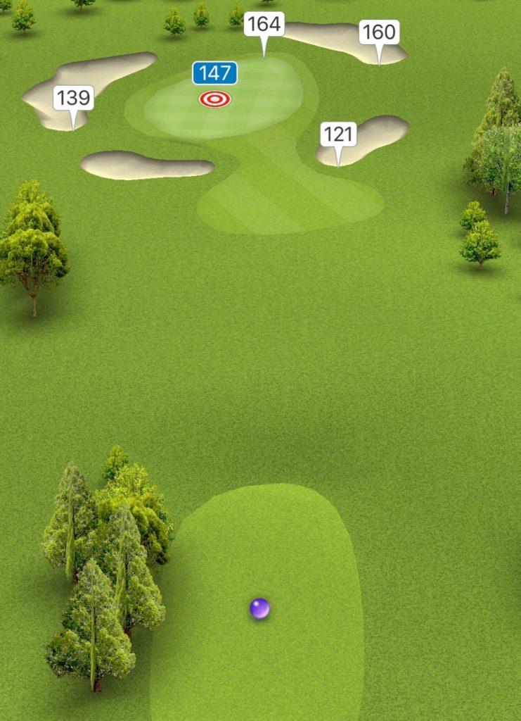 Hole 4 GPS