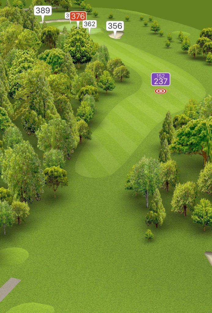 Hole 10 GPS