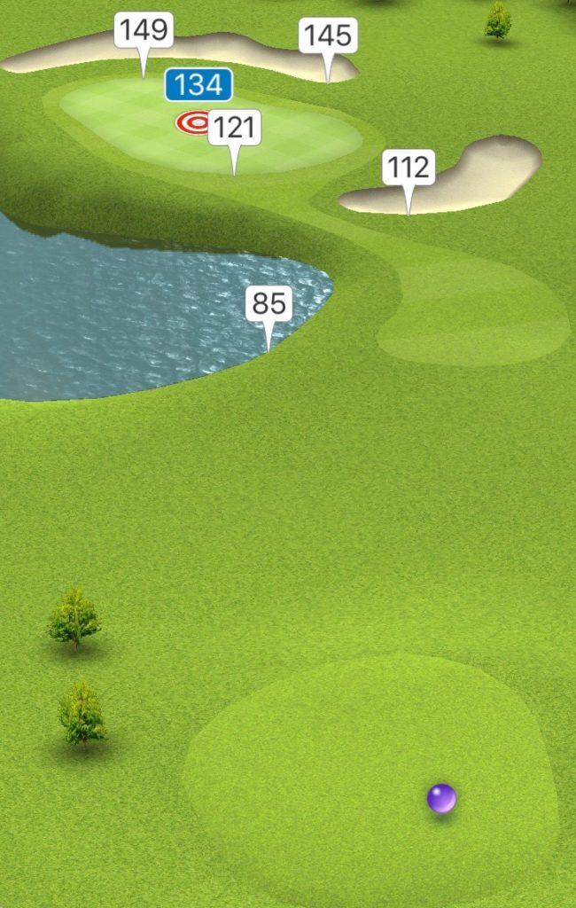 Hole 17 GPS