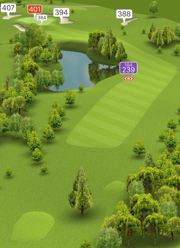 Hole 18 GPS